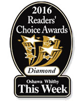 2016 Oshawa Readers Choice Award